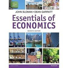Essentials of Economics, Garratt, Dean, Sloman, Mr John, New, Paperback