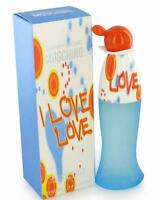 I Love Love by Moschino for Women 3.4 oz / 100 ml EDT Perfume Spray   NEW IN BOX