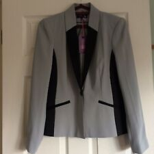 BNWT Woman Jacket Blazer Light Blue Size 12