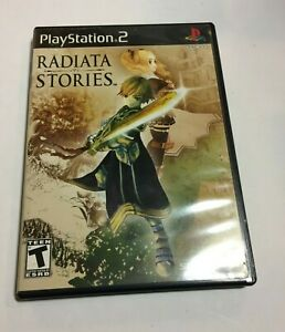 Radiata Stories (Sony Playstation 2, PS2) Complete, CIB - Free Shipping!