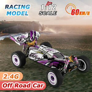 Wltoys 124019 1/12 2.4G 4WD RC Drift Auto 60km/h High Speed Crawler Offroad Car