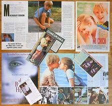 MACAULAY CULKIN spanish clippings 1990s photos magazine actor