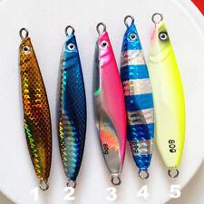 Lot Of 4 Slow Jigs Saltwater Vertical Fishing Metal Lures 80 gr 2.82 Oz