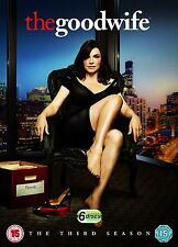 The Good Wife Complete Series 3 DVD All Episodes Third Season UK Release NEW R2