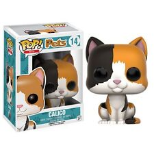 Funko Pop! Vinyl * Calico Cat * #14 Pets Kitty Kitten Figure New in Box POP