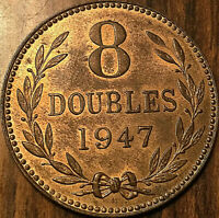 1947 GUERNESEY 8 DOUBLES - Really excellent!