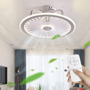Ceiling Fan with Light Modern Style Remote and App Control Mute 3-Wind Speed for