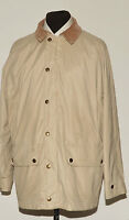 BARBOUR T340 BEAUCHAMP TRAVEL JACKET LARGE BEIGE