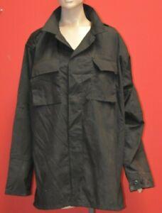 Tru Spec BDU Tactical Shirt Black Law Enforcement Police Extra Large Long R3D