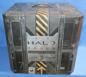 Halo: Reach - Legendary Edition Statue & Box,  no game
