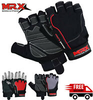 Power Weight Lifting Training Gym Gloves Straps Wrist Support Lift Workout