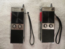 Marfeild 10 Solid State 10 Transistor Hand Held Transceivers Set Of 2