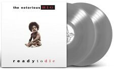 The Notorious B.I.G - Ready to Die Exclusive Limited Silver Colored Vinyl 2 LP