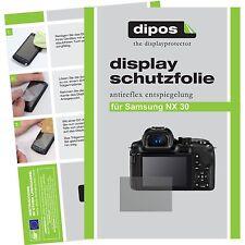 6x dipos Samsung NX30 matte Displayschutzfolie passgenau Antireflex Testsieger