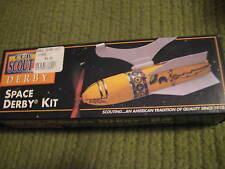 NWT Boy Girl Scouts of America Cub Crafts Space Derby Kit NOS
