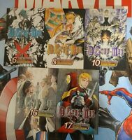 D Gray-Man Shonen Jump Advanced Manga vol 6, 8, 10, 16 and 17 by Katsura Hoshino