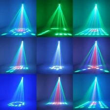 RGBW LED Lights Music Active Laser Stage Effect Lighting Club Disco DJ Party Bar