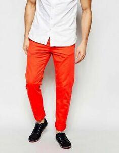 Esprit Chinos Slim Fit - Red W30/32/33, L34