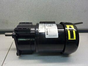 BISON 016-242-2058 1/6HP Gearmotor 115/230V 1650RPM 2.3/1.2A 50/60Hz   (21623)