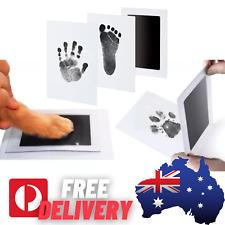 Newborn Christening 0-6mth Baby Imprint Gift Safe Hand Foot Paw Print Kit Growth