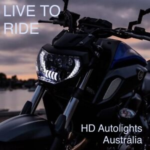 LED Projector Headlights with DRL for 2018-2019 Yamaha MT07 & MT-07