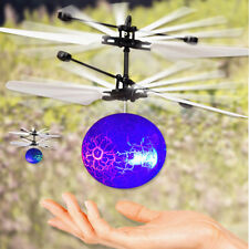 RC Flying Ball Drone Helicopter Ball Built-in Shinning LED Lighting For Kid Gift