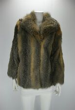 F11036 Fox Real Fur Size S Women Luxury Coat Jacket Outerwear