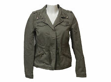 Unbranded Casual Popper Hip Length Coats & Jackets for Women