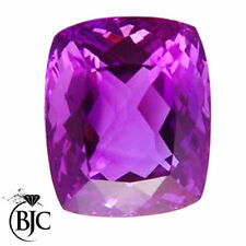 Cushion Loupe Clean Loose Amethysts