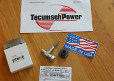 Genuine Tecumseh Engine Fuel Shut off Valve and Grommet 33351 H50 H60 Toro OEM
