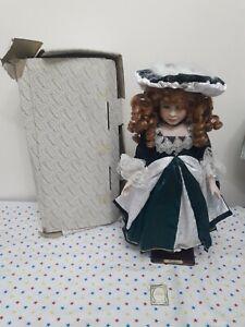 "Alberon Porcelain Doll ""Antoinette"" Boxed 53cm - Used"