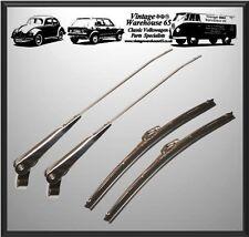 ACCIAIO Inossidabile WIPER ARM Blade Set Mini Cooper qualità 1970 fino a 2000