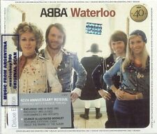 CD + DVD SET ABBA WATERLOO DELUXE EDITION 40TH ANNIVERSARY REISSUE NEW 2014