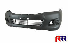 FOR TOYOTA HILUX 2/4WD SR WORKMATE 6/11-5/15 FRONT BAR COVER WITHOUT FLARE HOLE