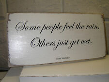 Shabby Chic Bob Marley Quote #1. Sign / Plaque.  Solid Wood. Beautiful Gift.