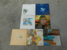 JONI MITCHELL-7 LP'S-BLUE-LADIES OF THE CANYON-MINGUS-CLOUDS-COURT AND SPARK