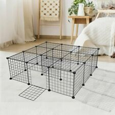 Protable Puppy Pet Playpen Diy Multi Panel Small In/Outdoor Metal Dog Fence