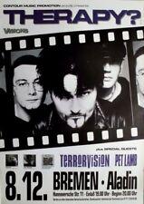 THERAPY - 1994 - Konzertplakat - Terrrovision - Troublegum - Tourposter - Bremen