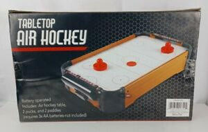 Mini TableTop Air Hockey Game No. 2990 (Battery Operated) Awesome Fun