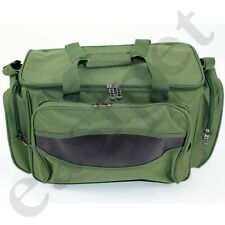 Carp Coarse Fishing Tackle Bag Green Insulated Carryall Holdall Padded Easipet