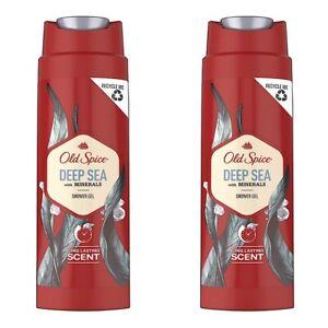 ✅ Old Spice Deep Sea Shampoo Shower Gel Duschgel Herren 2er Pack 2 x 250 ml ✅