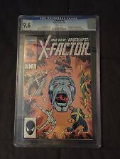 X-factor #6 CGC 9.6 1st Full Appearance of Apocalypse