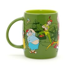 NEW DISNEY STORE PETER PAN CHARACTER MUG CUP WENDY CAPTAIN HOOK TINKER BELL SMEE