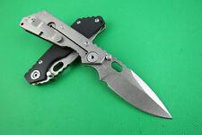 NEW 8'' CNC  G10 Handle 8Cr13Mov Steel Blade Line Lock Folding Pocket Knife FD02
