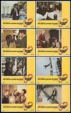 SCORPIO original 1973 lobby card set BURT LANCASTER/ALAIN DELON/GAYLE HUNNICUTT