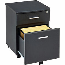 A4 Filing Cupboard with Drawers and Lock Piranha Furniture Graphite Black PC 10g