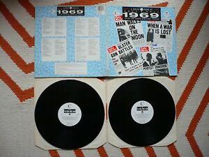 25 Years Of Rock 'N' Roll 1969 A Series Double Vinyl UK 1988 Various Artists LP