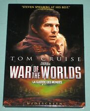 War Of The Worlds sci-fi 2005 DVD movie (WS Eng/Frn aud+art) Slipcover SPIELBERG
