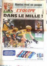 L'Equipe Journal 17/04/1997; Flèche Wallonne; Jalabert/ Nantes vent en poupe