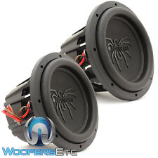 "(2) SOUNDSTREAM T5.104 PRO SUBS 10"" 3600W MAX DUAL 4-OHM SUBWOOFERS SPEAKERS NEW"